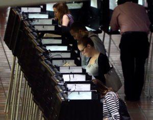 Early Voting (AP Photo/Lynne Sladky, File)
