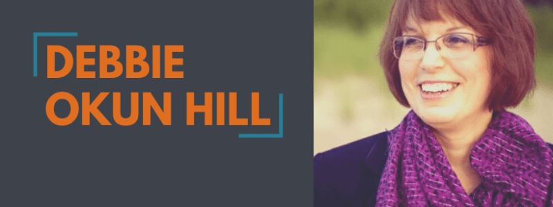 Author Spotlight Announcement Website Slider - Debbie Okun Hill