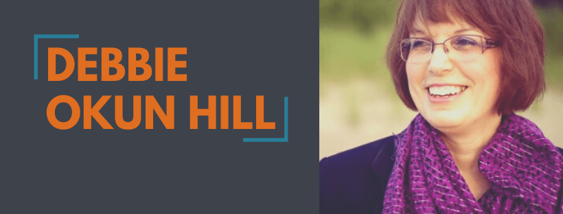 Author Spotlight Announcement Website Slider - Debbie Okun Hill