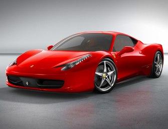 The 2011 Ferrari 458 Italia
