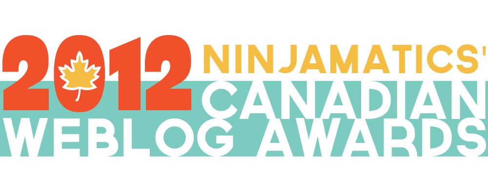 2012 Ninjamatics Canadian Weblog Awards