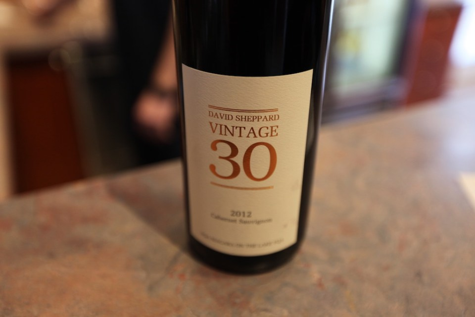 David Sheppard Vintage 30 Wine