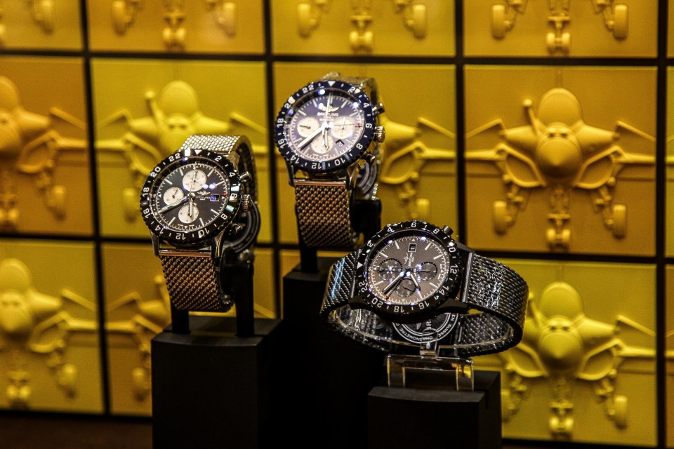 breitling store opening 6