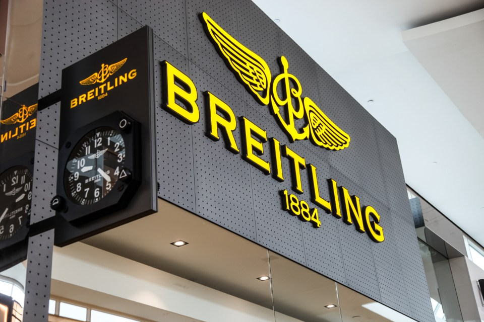 breitling store opening