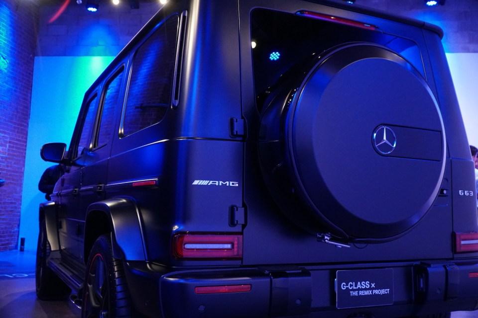 mercedes benz g wagon 2019 remix project2