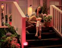 Philips Hue Outdoor Lighting Is Perfect For Backyard Parties And Patios