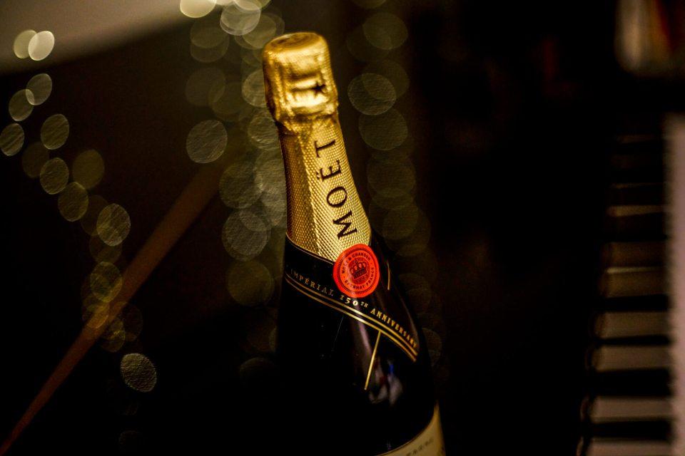 Moët & Chandon Bottle of Champagne