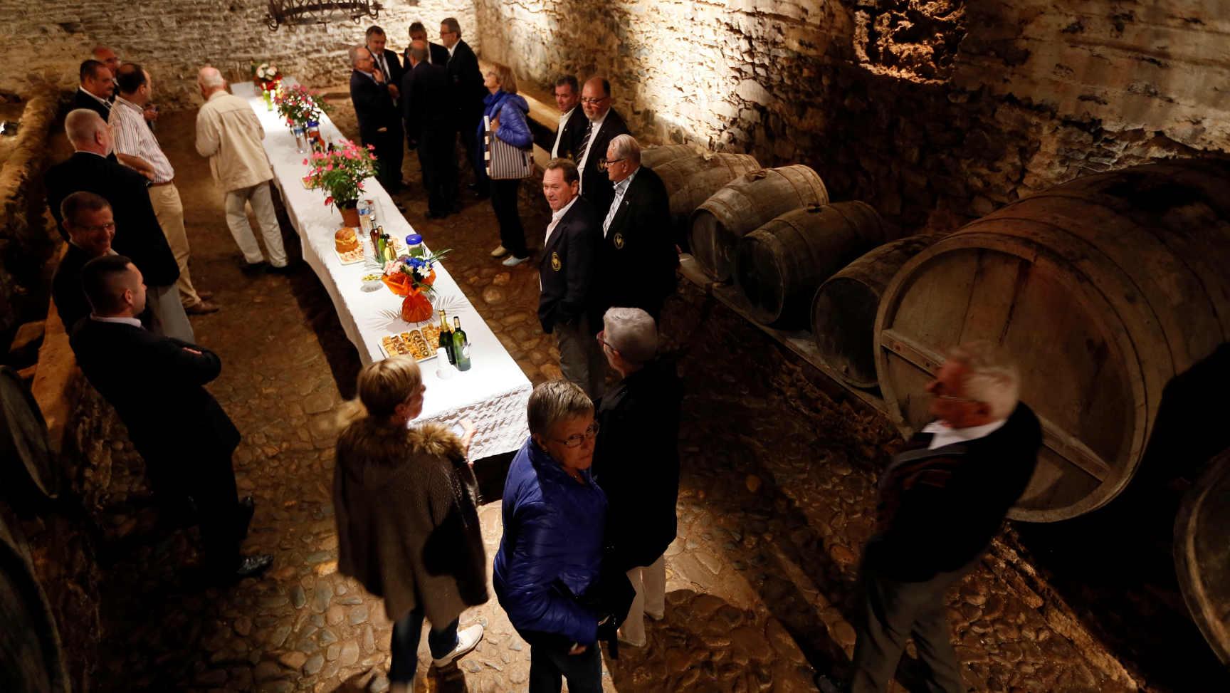 L'ancienne cave vinicole