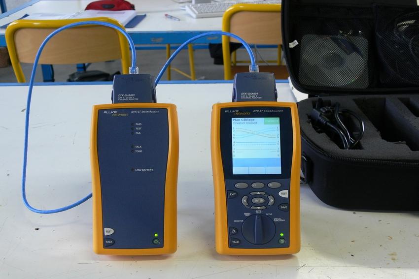 Certification de câblage informatique