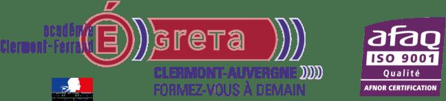 Logo en couleurs du GRETA Clermont-Auvergne