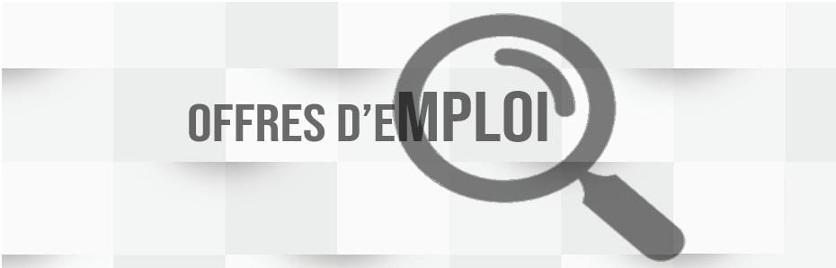 offres d'emplois du 08 octobre 2019