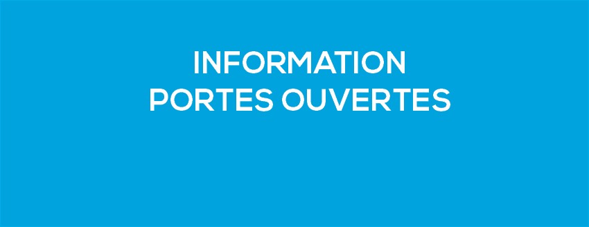 Information portes ouvertes