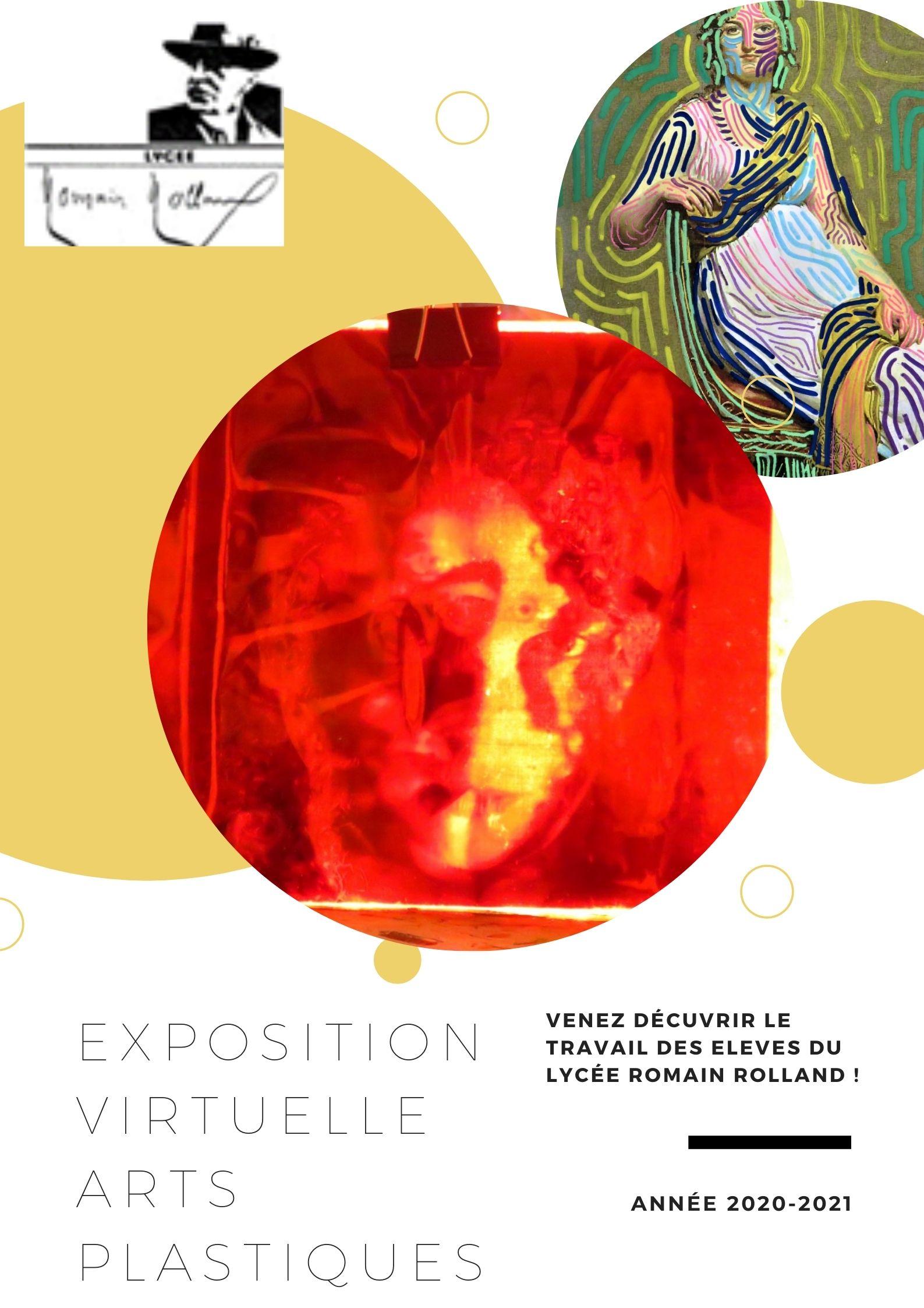 Exposition en ligne : venez découvrir le travail des élèves en Arts plastiques !