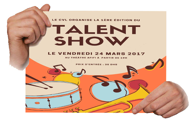 Organisation du Talent Show