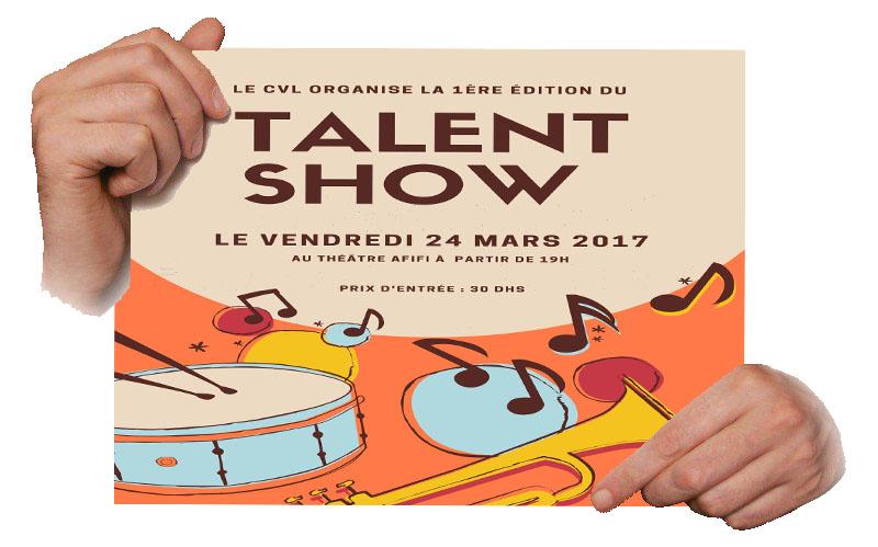 Organisation du Talent Show