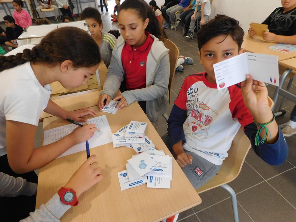 Les délégués des classes primaires