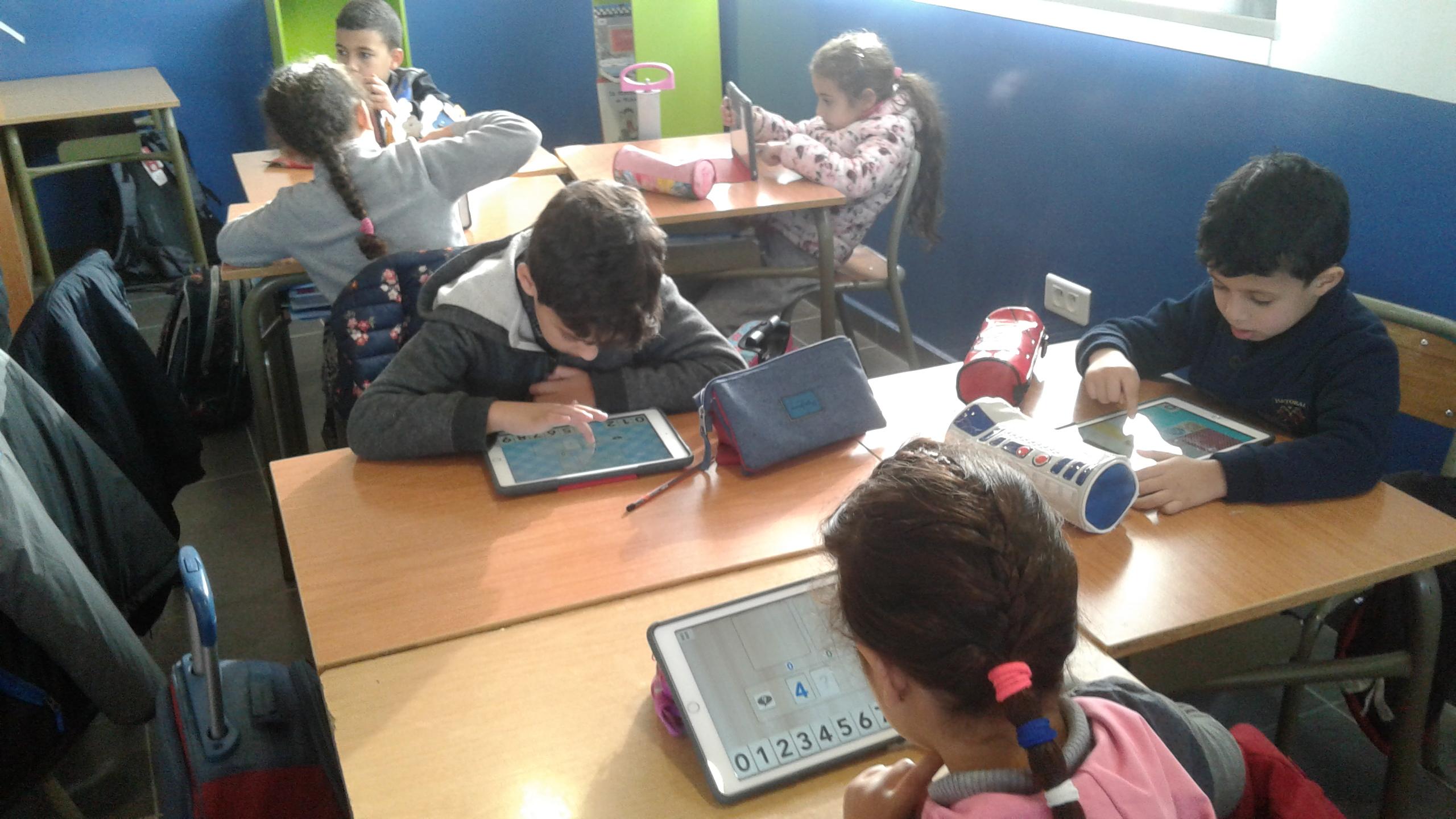 Des tablettes numériques dans les classes !