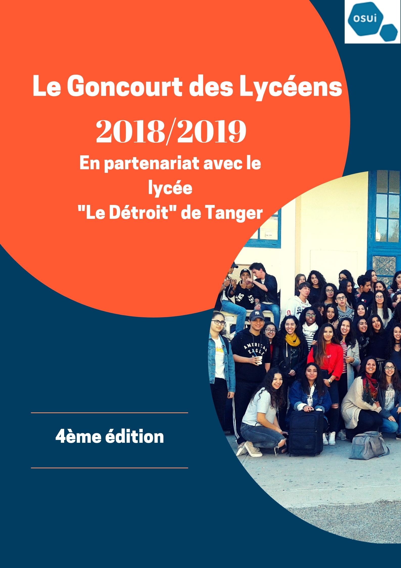 Goncourt des lycéens: top départ!!!
