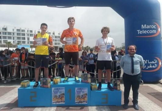 Bravo à nos élèves  qui ont brillé au CrossCross d'Agadir !
