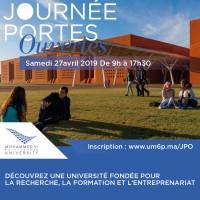 JPO de l'Université Mohammed VI Polytechnique