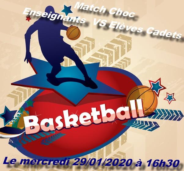 Match amical de basketball