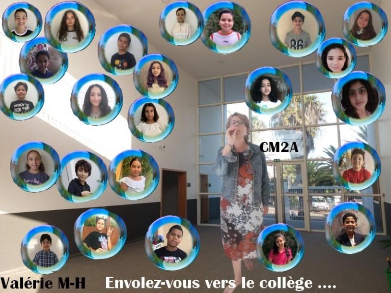 Photo de classe virtuelle des Cm2A