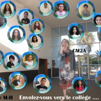 Photo de classe virtuelle des Cm2A