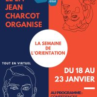 Au programme au salon virtuel de l'orientation