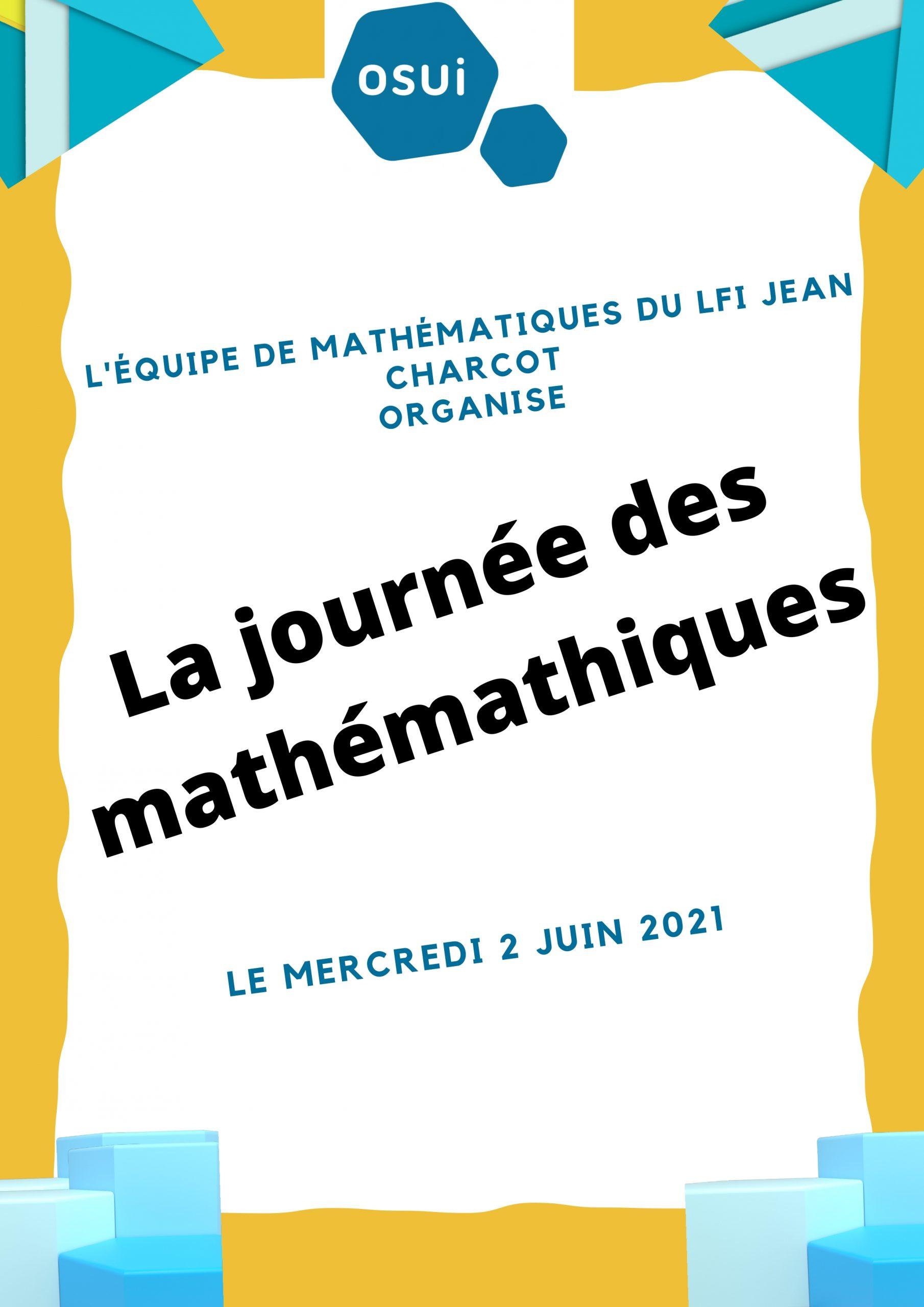 La journée des mathématiques au LFI Jean Charcot