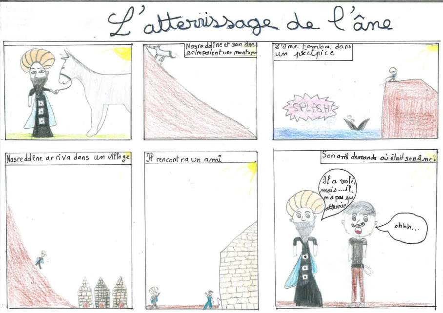 L'ATTERRISSAGE DE L'ANE Marie-José_Noémie_Rayan_Baqir