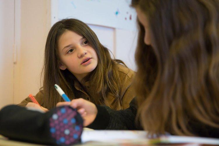 sections - collège  - à l'école montessori Athéna