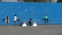 tennis de table dans la cours du lycée