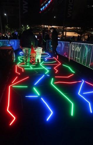 Sydney Vivid Maze Walk