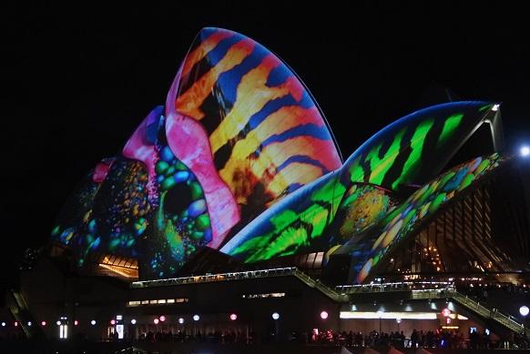 Sydney Vivid Opera House 3