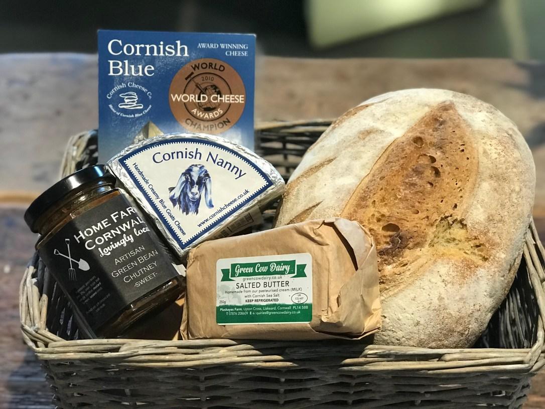 Cornish cheese hamper