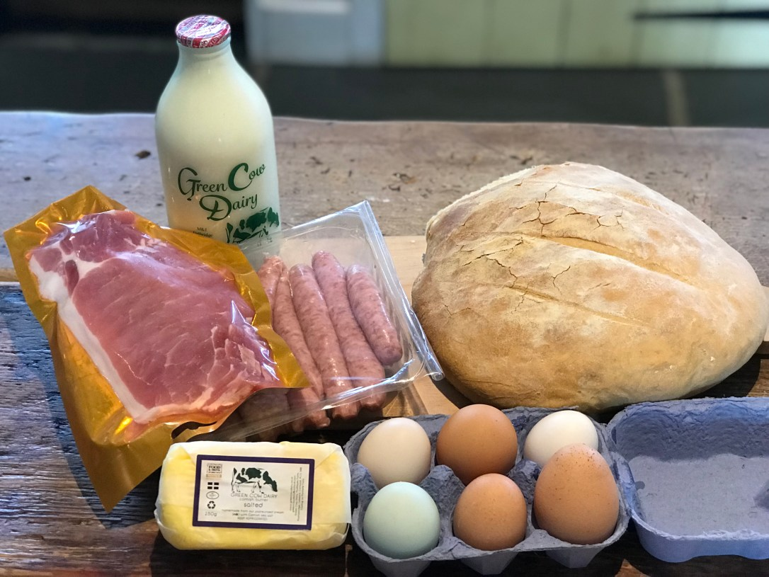 Local breakfast hamper