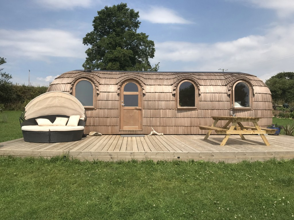 The Pasty Lydcott Glamping Cornwall