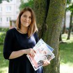 """Laura Balčiūtė – žurnalo senjorams """"60+"""" leidėja."""