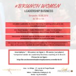 BRUNCH WOMEN LEADERSHIP BUSINESS – Dimanche 18.09.2016 de 10h à 16h à Paris
