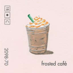 frosted cafe