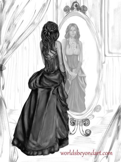 Stealing a Dream illustration - Haisma Mirror