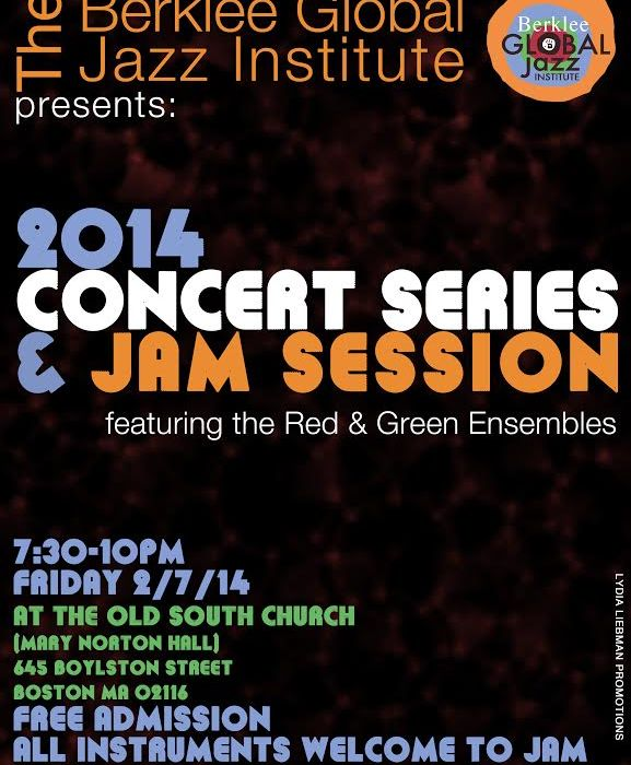 Berklee Global Jazz 2014