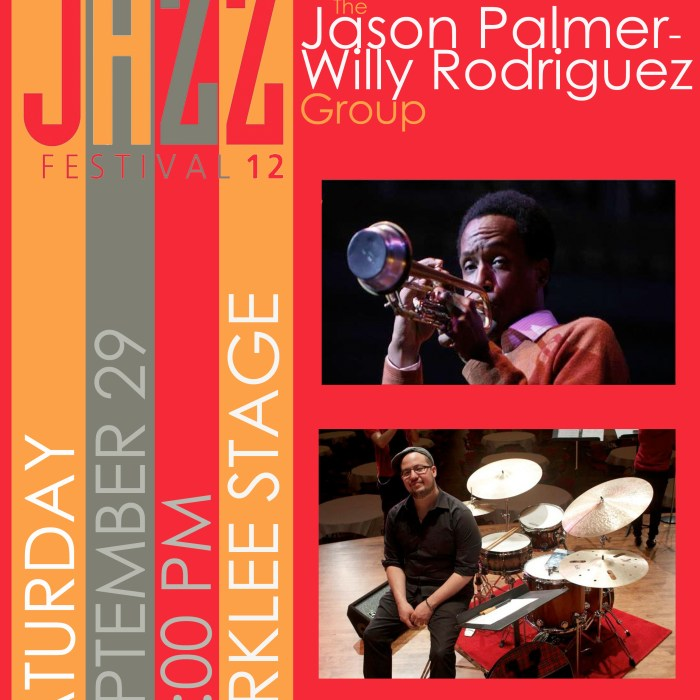 Jason Palmer – Willy Rodriguez Group 9/29/12