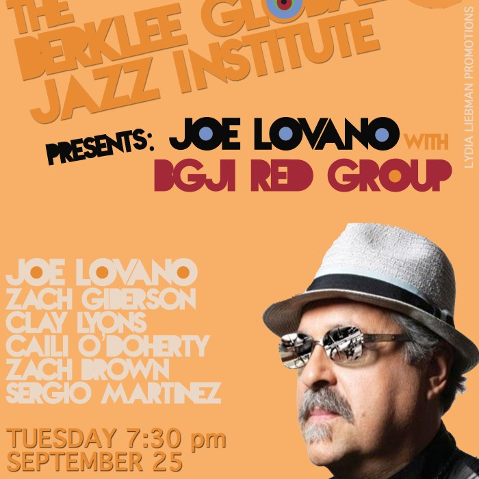 Joe Lovano + BGJI 9/25/12