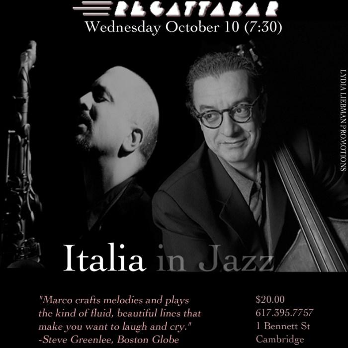 Marco Pignataro + Riccardo del Fra 10/10/12