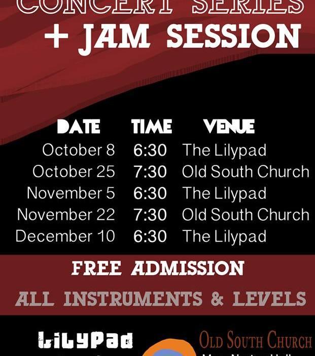 BGJI Concert Series + Jam Sessions 10/8/13