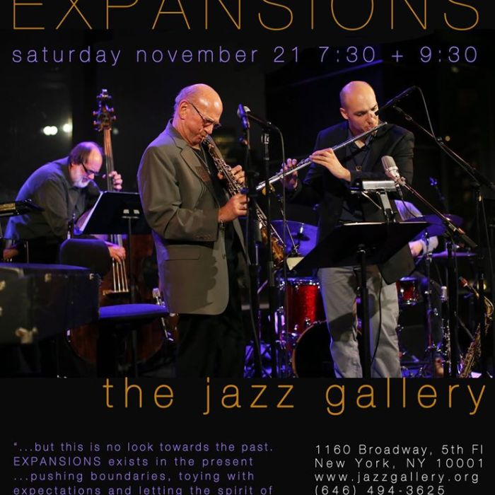 Dave Liebman Expansions 11/21/2015
