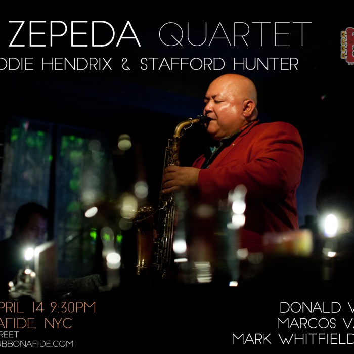Ray Zepeda Quartet, Club Bonafide, 4/14/17