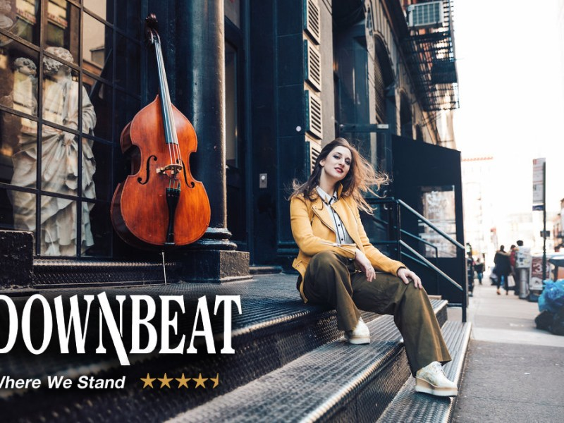 "REVIEW: Adi Meyerson's ""Where We Stand"" Gets a 4.5 Star Review from Downbeat"