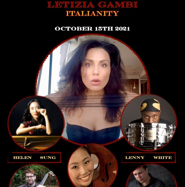 EVENT ANNOUNCEMENT: Award-Winning Italian Vocalist Letizia Gambi and Iconic Jazz Drummer Lenny White to Perform at Cutting Room on October 15, 2021
